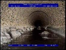 Fot. 2. Stan sieci kanalizacyjnej ? 250 mm przy ulicy Bzowej w miejscowości Psarskie (3)
