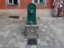 Zdrój uliczny na Starym Rynku w Poznaniu Archiwum Aquanet Poznań