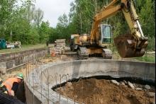 Prace modernizacyjne w oczyszczalni ścieków w Malechowie J. Palenik
