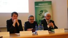 Od prawej: A. Małyszko, P. Gluźniewicz, J. Roliński/Fot. 2xM. Łątkiewicz